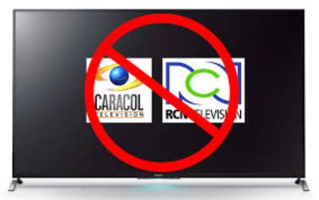¿RCN TV y Caracol TV son medios de comunicación o de contaminación?