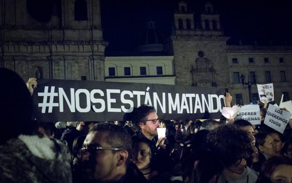 """""""Nos están matando"""", el grito desesperado de los líderes sociales de Colombia"""
