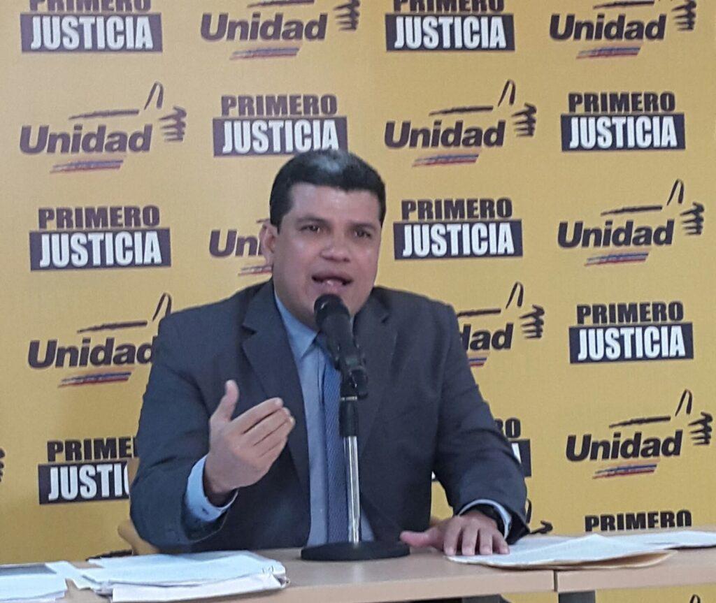 Luís Eduardo Parra de Primero Justicia, electo presidente de la Asamblea Nacional en Venezuela