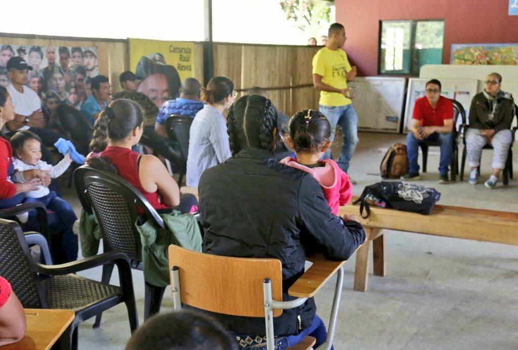 Por falta de seguridad 62 desmovilizados de las Farc abandonarán ETCR Santa Lucia en Ituango