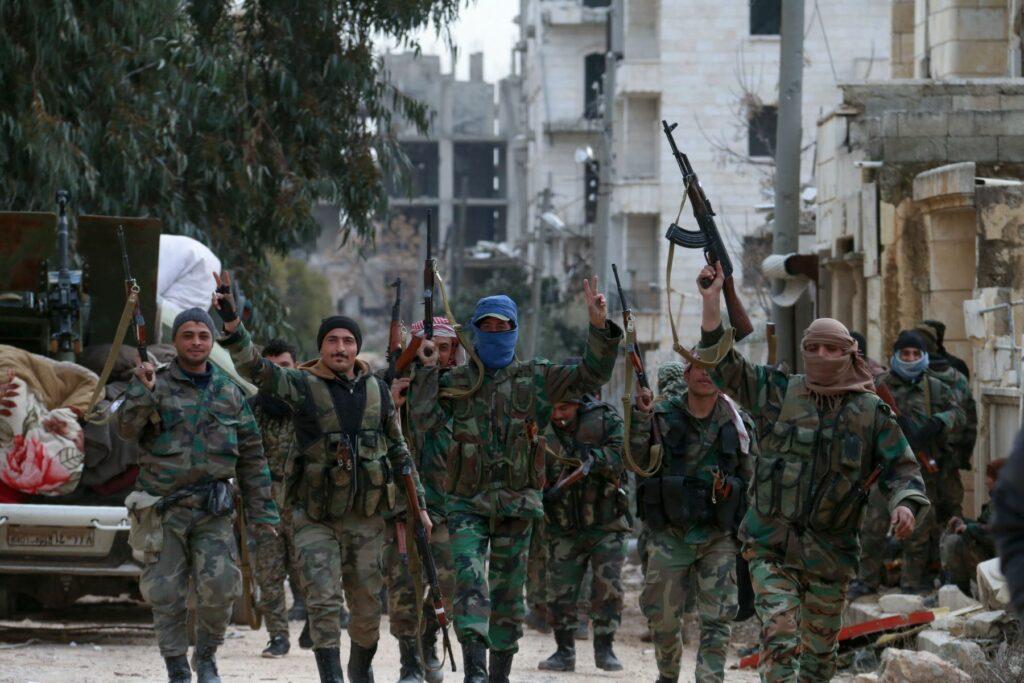 Sirios recuperan la ciudad de Alapo