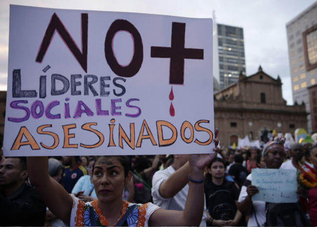Encuentran asesinados a dos líderes sociales que habían sido secuestrados en Putumayo