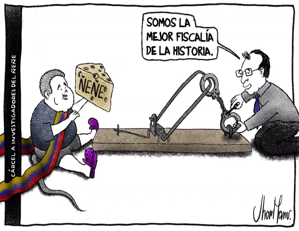 Cárcel a investigadores del Ñeñe