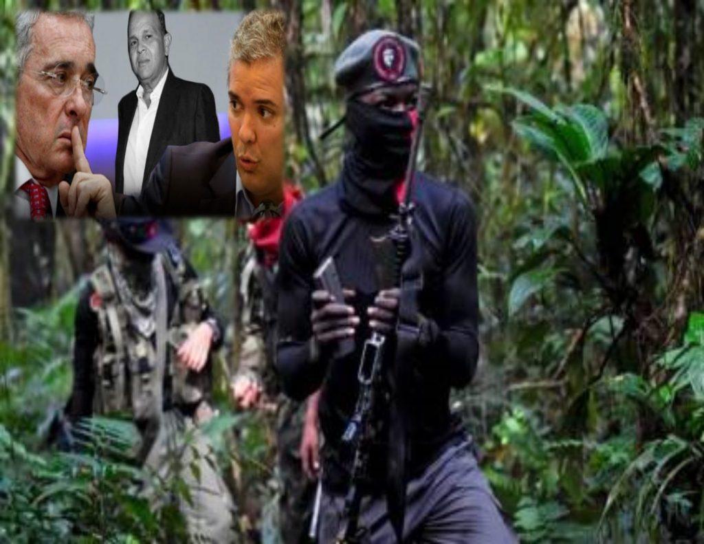 Guerrillas en Colombia negocian la paz con un narcoparaestado