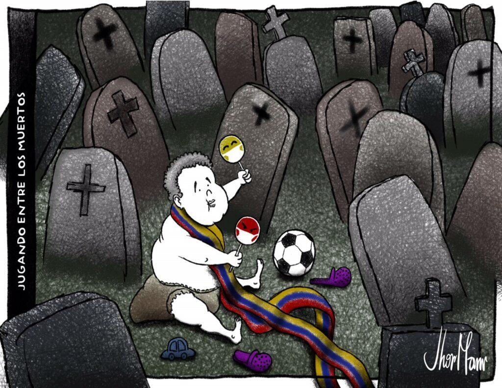 Jugando ente los muertos