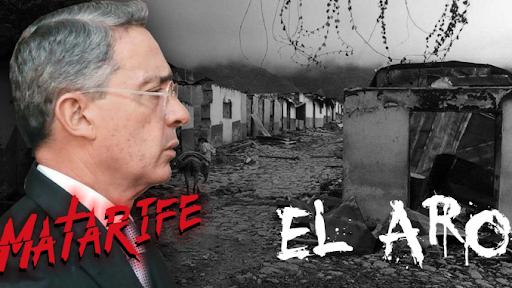 El Descuartizador, Uribe y La Masacre del Aro