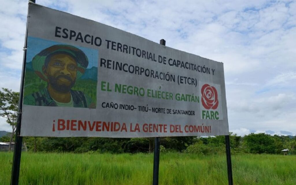 Primer caso de Covid-19 en ETCR de Caño Indio, Tibú
