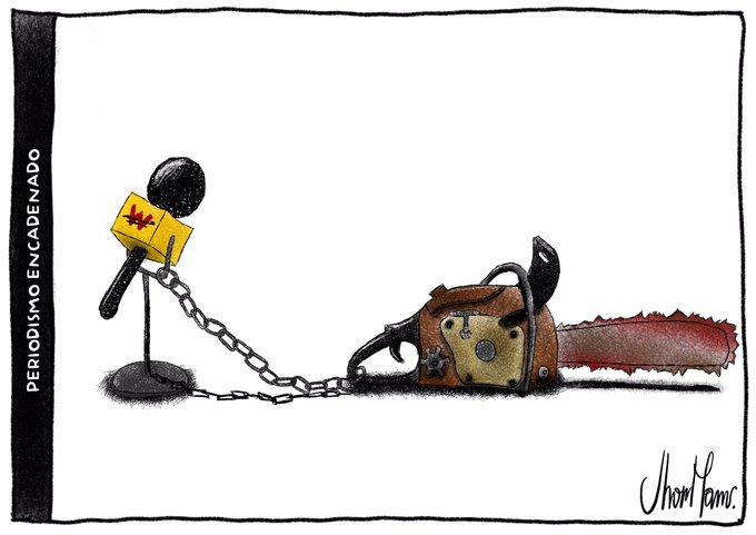 Periodismo encadenado