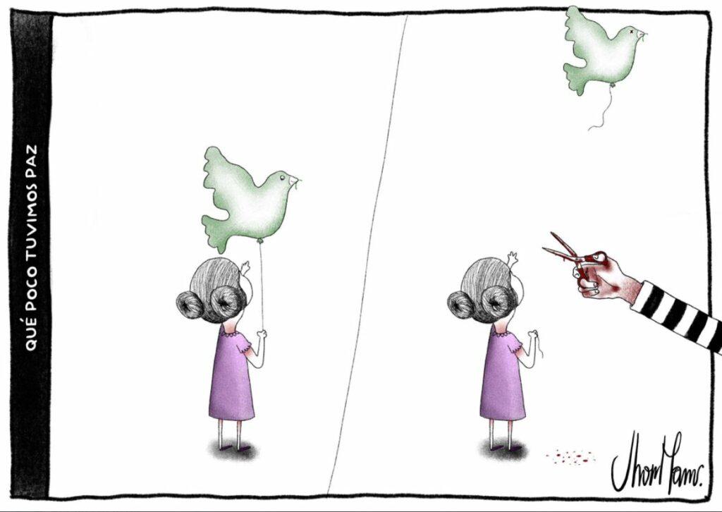 Qué poco tuvimos paz