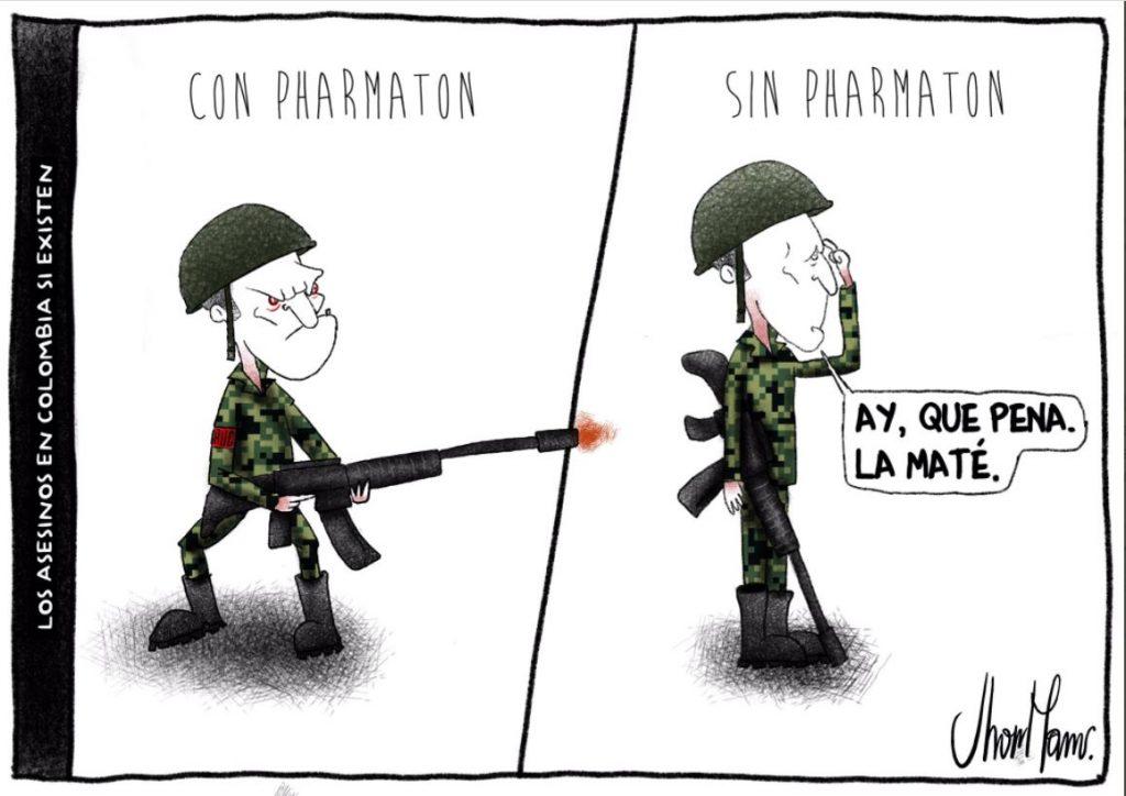 Los asesinos en Colombia si existen.