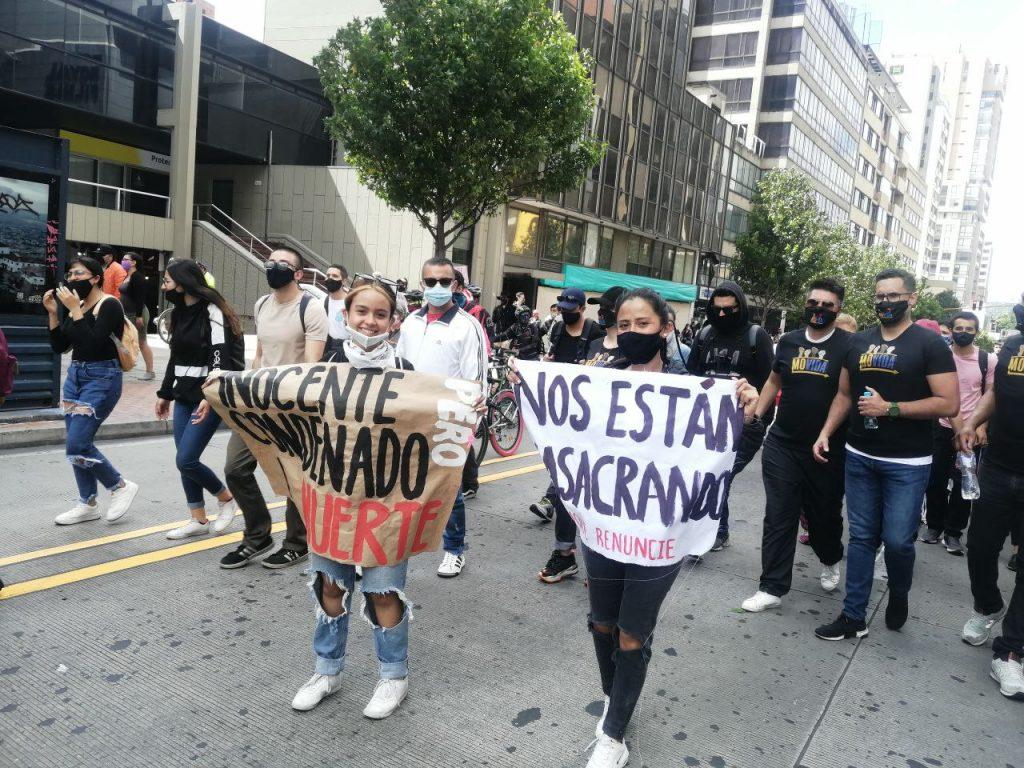 Colombianos se movilizarán este 21 de septiembre para exigirle a Duque parar las masacres.