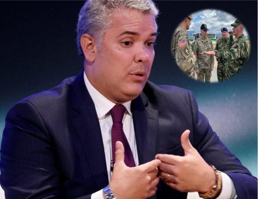 Tribunal abre incidente de desacato al presidente Iván Duque por labores de militares de Estados Unidos en Colombia.