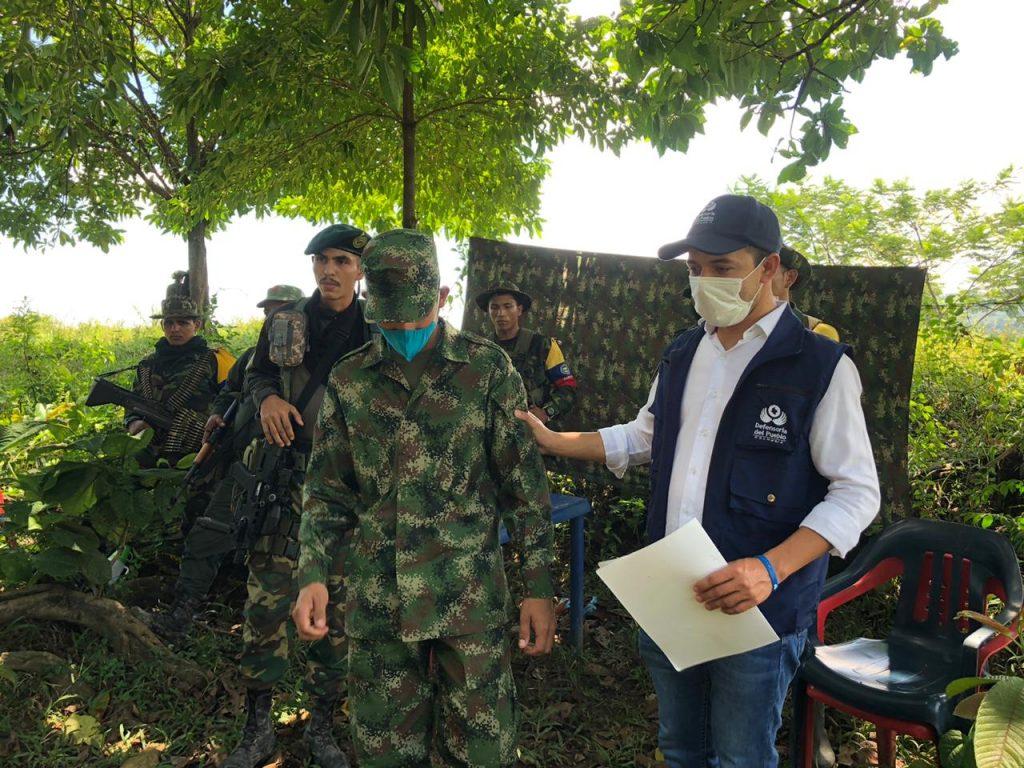 Disidencias de las Farc deja en libertad a soldado en Catatumbo.